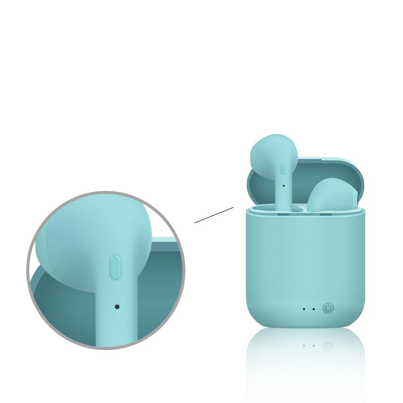 Multicolored Mini Wireless Earphones