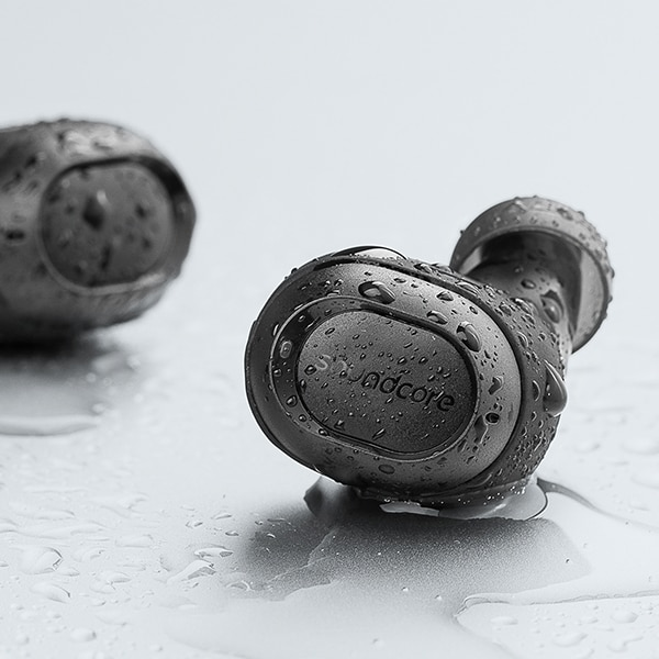 Wireless Sweatproof Mini Earphones with Microphone