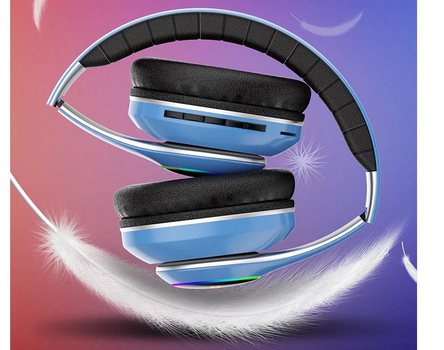 LED RGB Wireless Headphones