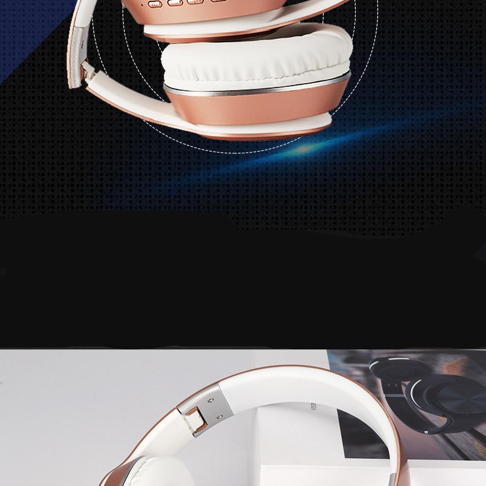 Brightside Wireless Foldable Bluetooth Headphones