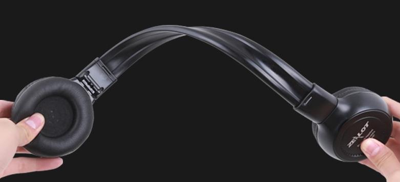 LCD Screen Stereo Wireless Headphones