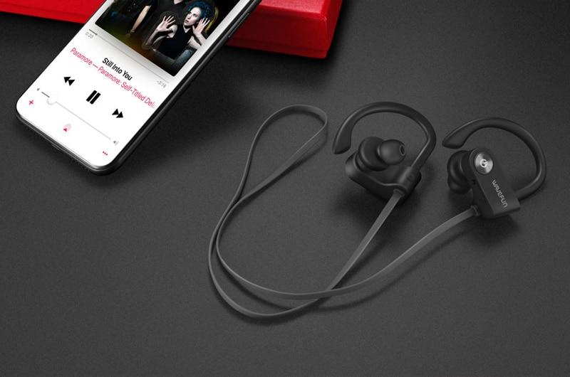 Wavefun Waterproof Bluetooth 5.0 Sports Headphones
