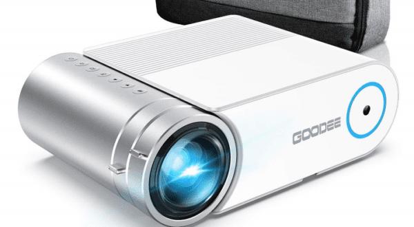 GooDee 2020 Upgrade YG420 Mini Video Projector