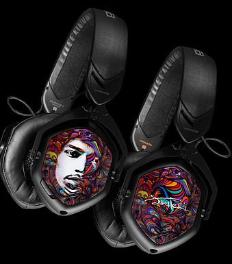 V-Moda Jimi Hendrix Peace Headphones